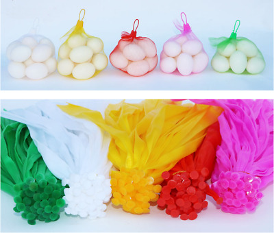 1000 pcs PP Mesh Red 20 inch Net Bags for Produce Toys etc Vegetable Fruits