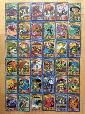 36 Holographic Teenage Mutant Turtles play/trade TMNT cards  GameSpot 2006