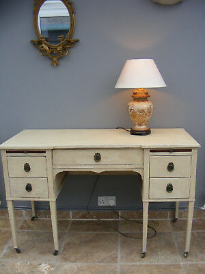 Vintage Antique style shabby chic desk / dressing table / sideboard