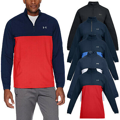 2018 Under Armour Mens Windstrike Half Zip Windproof Jacket UA Pullover Golf Top