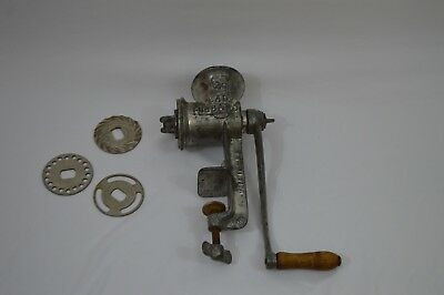 Vintage Lady Hibard 20  Hand Cranked Meat Grinder MADE IN USA (16)