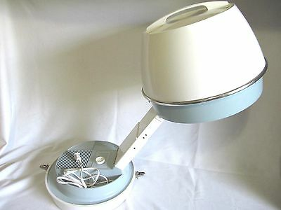 Salon Style Portable Table Hood Hair Dryer By Hamilton Beach Scovill -Exclnt