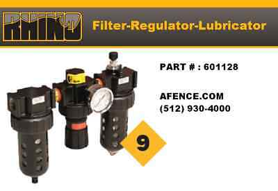 RHINO Filter Regulator Lubricator  601128