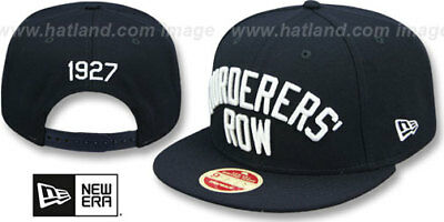 Yankees 'MURDERERS ROW CALLOUT SNAPBACK' Hats by New Era