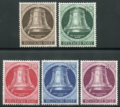 Germany Berlin Scott#9N70/74 Mint Never Hinged--Scott Value $75.00