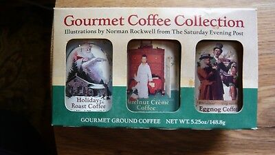 Saturday Evening Post Harmony Bay Gourmet Coffee Collection Norman Rockwell