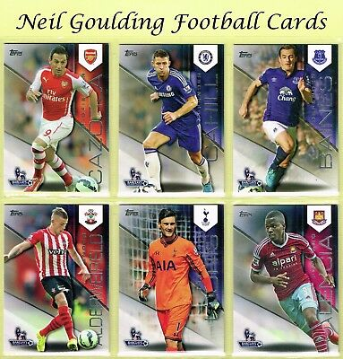 Topps PREMIER GOLD 2014 ☆ Premier League Football Cards ☆ #1 to #150
