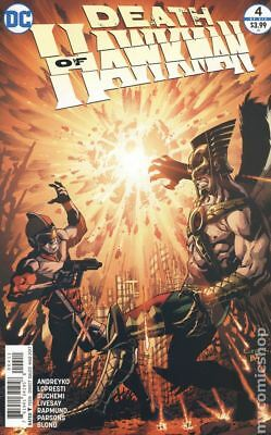 Death of Hawkman (DC) #4 2017 NM Stock Image