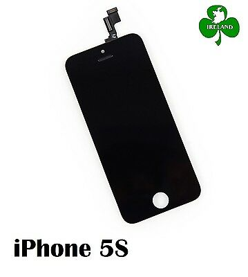 For iPhone 5S LCD Touch Screen Display Digitizer Glass Assembly Unit Black NEW