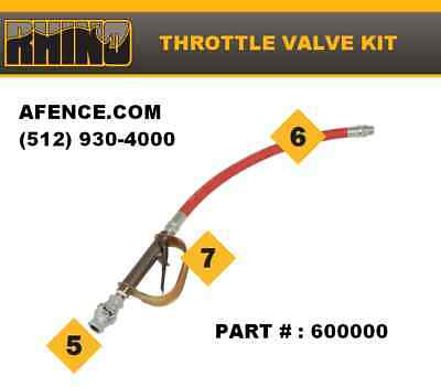RHINO Throttle Valve Kit 600000
