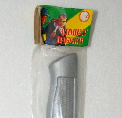 Plastic Combat Dagger Knife Carnival Prize Dime Store Toy NOS New Tags NOS 1960s
