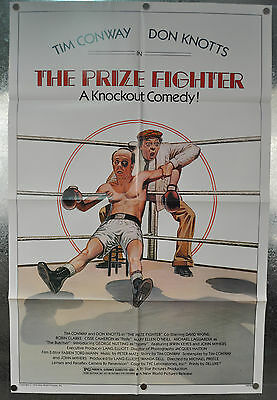 The Prize Fighter Original One Sheet Movie Poster 1979 27 x 41