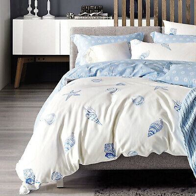 Miami Palm Tree Quilt Doona Duvet Cover Set by Mambo SINGLE DOUBLE QUEEN