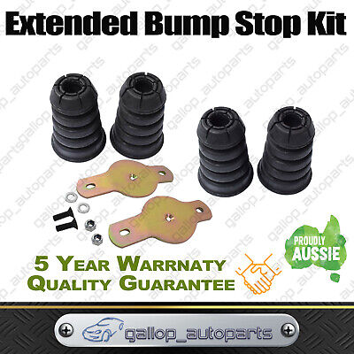 Front &Rear Extended Bump Stops For NISSAN PATROL GU GQ Y61 Y60 Bumpstop Bolt In