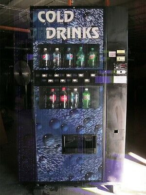 Soda Pop Drink Machine Dixie Narco 501-E Bottles & Cans