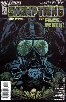 Swamp Thing (5th Series) #4 2012 VF Stock Image