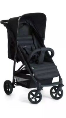 Hauck Caviar / Black Rapid 4 Pushchair Stroller Baby Buggy With Raincover