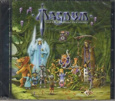 MAGNUM - LOST ON THE ROAD TO ETERNITY (2018) 2CD Jewel Case by Soyuz Music+GIFT