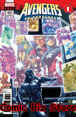 Avengers #683 (2018) 1St Printing No Surrender Bagged & Boarded Marvel Comics
