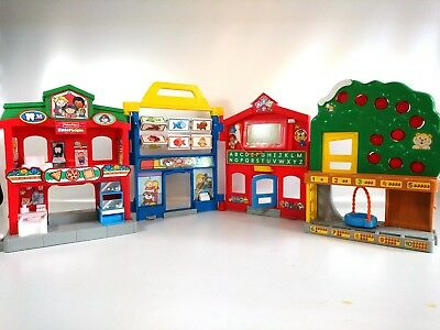 Fisher Price Little People Learn About Town Playset Families Dutch Nederlands NL
