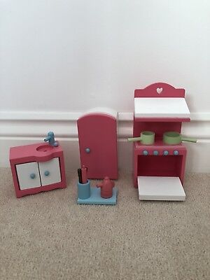 Early Learning Centre, Dolls House Furniture, Rosebud Cottage, Kitchen