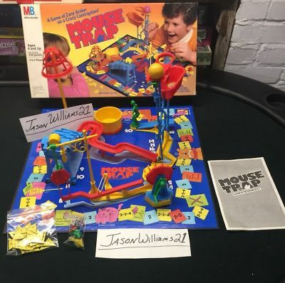 Amazon.com: Mouse Trap Board Game 1986 Edition: Toys & Games
