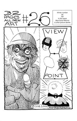 Two New Steve Ditko Comics: Ditko 26 and Mr A 7  Free Shipping