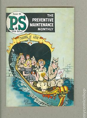 PS The Preventive Maintenance Monthly #45 1956 VG- 3.5