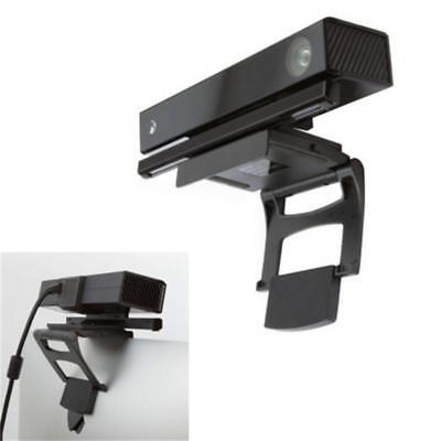 Black TV Clip Mount for Kinect 2.0 Sensor (Microsoft Xbox One) Motion Gaming BS