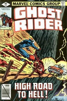 Ghost Rider (1st Series) Mark Jewelers #37MJ 1979 VG 4.0 Stock Image Low Grade