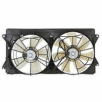 Toyota Celica 230 ZZT231R Dual Condenser Radiator Cooling Engine Thermo Fan Set