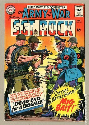 Our Army at War #161 1965 FN- 5.5