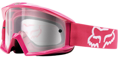 FOX Motocross Goggles Pink NEW! Female Ladies Motorcross Dirt bike MX Off road