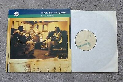 Ali Farka Toure with Ry Cooder, Talking Timbuktu, audiophiles Vinyl, DMM