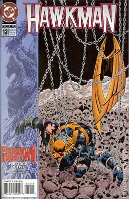 Hawkman (3rd Series) #12 1994 VF Stock Image