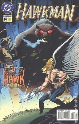 Hawkman (3rd Series) #14 1994 VG Stock Image Low Grade