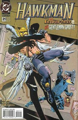 Hawkman (3rd Series) #21 1995 VF Stock Image