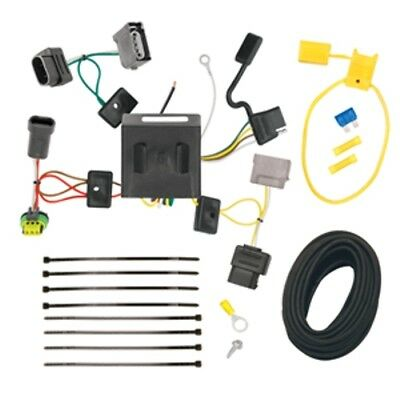 Trailer Hitch Wiring Tow Harness For 2011 2012 Dodge Journey W/ LED Taillights