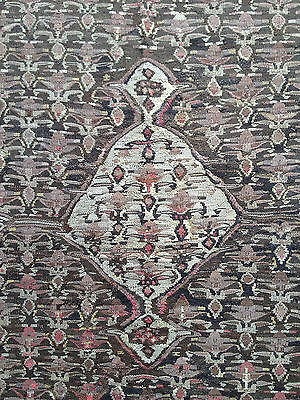 ANCIEN TAPIS KILIM SENNEH SINÉ KURDE, FIN XIXème OLD KURDISH RUG LATE 19th CENT
