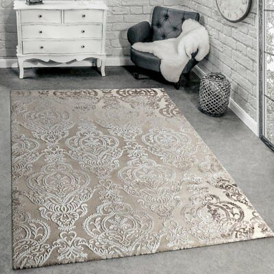Remarkable Large Rug Modern Shabby Chic Antique Style Mat Soft Beige Cream Living Area Rugs Home Interior And Landscaping Synyenasavecom