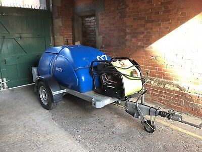 WESTERN TOWABLE Water Bowser PRAMAC PW3000 Diesel  PRESSURE WASHER WATER BOWSER
