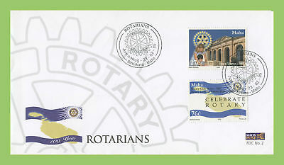 Malta 2005 Rotary International First Day Cover, Birkirkara