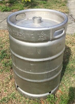 Anheuser Busch Empty 15.5 Gallon Beer Keg Local Pick up or Delivery Make Offer