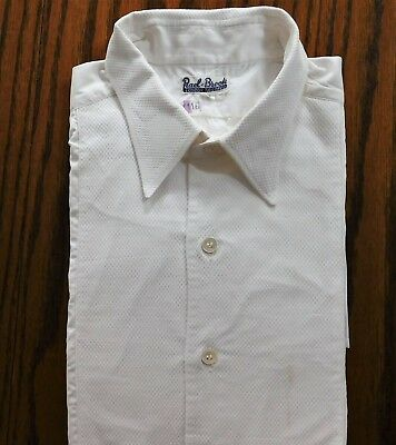 Rael Brook Marcella dress shirt Collar size 16 men's evening wear vintage 1950s