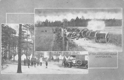 CAMP LEE, VA Artillery Range Military Army Soldiers c1910s WWI Vintage Postcard