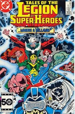 Legion of Super-Heroes (2nd Series) #327 1985 VF Stock Image