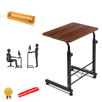 Adjustable Laptop Desk Mobile Table Rotate 360° Computer Stand Office Student