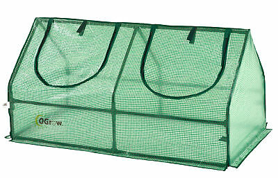 NEW Ogrow Compact Outdoor Seed Starter Greenhouse Cloche w/ PE Protection Cover