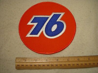 "Rare Large Size NOS Unused 6"" Union 76 Gas Station Embroidered Back Patch"