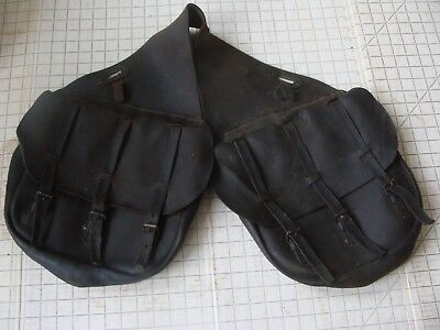 US Cavalry Antique Saddlebags WITH LINERS! Indian Wars 1880-1890 model GUC #163